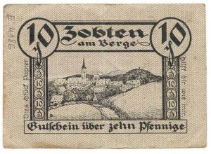 Bon zastępczy wydany przez Magistrat Sobótki, 25.10.1919 r.