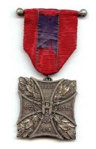 Odznaka obrony Lwowa (1-22 listopada 1918): odcinek I