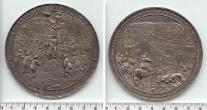 Medal wybity z okazji zwycięstwa wojsk Rzeczypospolitej nad moskiewskimi pod Smoleńskiem
