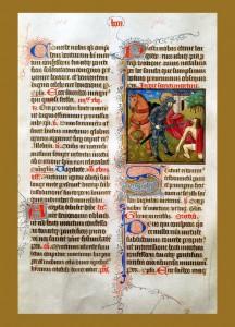Mszał łaciński, XIV w.
