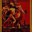 Ulotka patriotyczna, z 1933 r.