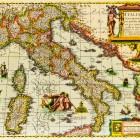 Mapa Włoch z 1631 roku