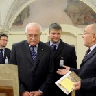 Prezydent Vaclav Klaus w Ossolineum