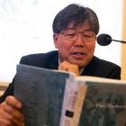 """Prof.Cheong czyta fragment koreańskiego przekładu """"Pana Tadeusza"""""""