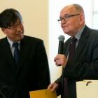 Prof. Cheong i dr Adolf Juzwenko