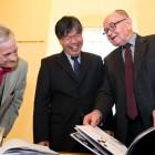 Prof. Cheong, dr Adolf Juzwenko i dr Bogusław Bednarek.