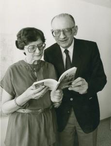 Zofia i Władysław Bartoszewscy 1986 r.