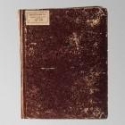 Oryginalna oprawa rękopisu przed konserwacją
