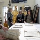 Zespół rękopisów z dokumentami po demontażu. Omawianie programów konserwatorskich