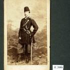 Eustachy Klukowski w mundurze Pułku Jazdy Wołyńskiej