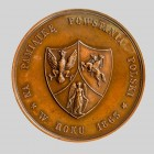 Medal na pamiątkę powstania polskiego, awers, 1863-1864. Autor Ch.Wiener, Belgia