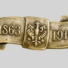Pamiątkowa odznaka na 53 roczniće wybuchu powstania, Lwów 1916