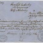 Pismo Komitetu Centralnego Narodowego do gen. A.Jeziorańskiego, 25 lutego 1863