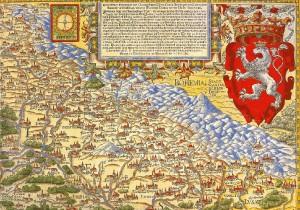 """""""Piękna, ale niewierna"""" – mapa Śląska Martina Helwiga, XVI w."""