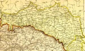 """""""Wierna, ale niepiękna"""" – mapa Królestwa Galicji i Lodomerii, XIX w."""
