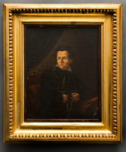 Tytus Byczkowski, Portret Juliusza Słowackiego. Malowany olejno na  płótnie, 1831, wym.: 32,4 x 27, 3 cm