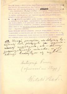 Maszynopis Bolesława Prusa