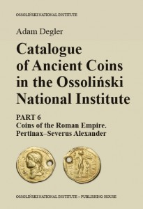 Katalog monet antycznych. Cz.6.