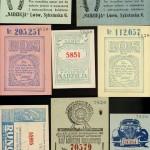 Lwowskie losy loteryjne z okresu międzywojennego