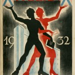 X Tydzień Akademika, Wilno 1932: plakat autorstwa G.A. Achramowicza