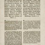 Patent cesarza Ferdynanda I o zniesieniu pańszczyzny z 17 kwietnia 1848 r. (antydatowany), jęz. niem., pol.