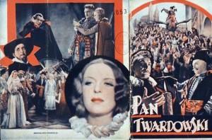 """Program filmu """"Pan Twardowski"""" z 1936 r. w reż. Henryka Szaro"""