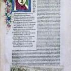 Dante Alighieri, La Commedia, cum commento Christophori Landini. Florencja, N.Laurentii, 1481