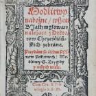 Modlitwy nabożne wszem białym głowom należące. Kraków, M.Szarffernberger, 1587