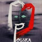 Polska Pantomima. Henryk Tomaszewski, 1964: plakat autorstwa J.Tartyłły
