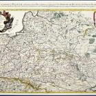 Mapa Rzeczypospolitej Nicolasa Sansona, wyd. A.-H. Jaillot Paryż 1675