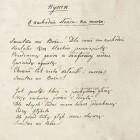 Juliusz Słowacki, Hymn. O zachodzie słońca na morzu, 1836 r.