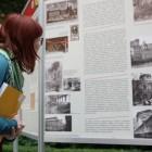 65 lat Czytelni Głównej, wystawa planszowa
