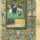 Breviarium cum callendario Gallico XIV w., kodeks pergaminowy