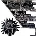 """Plakat do spektaklu Teatr Laboratorium 13 Rzędów w Opolu """"Tragiczne dzieje Doktora Fausta"""" 1963"""
