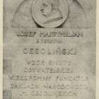 Lwowska Tablica z 1928 r.