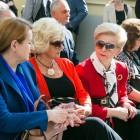 Córki Janusza Witwickiego, Anna i Zofia, oraz Barbara Zdrojewska