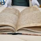 Rękopis po konserwacji