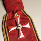 Wielki Krzyż Orderu Zasługi RFN przyznany W. Bartoszewskiemu, 2001