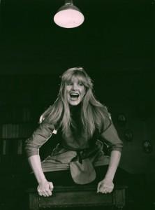Akt przerywany, reżyseria Bohdan Cybulski, Teatr Nowy w Warszawie, aut. fot. Wojciech Plewiński. Na zdjęciu: Tatiana Sosna-Sarno, 1984 r.