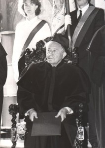 Tadeusz Różewicz – doktor honoris causa Uniwersytetu Wrocławskiego, 7 października 1991 r.