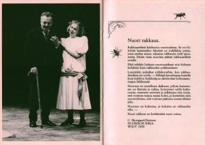 Program sztuki pt. Valkoinen Avioliitto (Białe małżeństwo) fińskiego Turun Kaupunginteatteri, w reżyserii Krzysztofa Babickiego, 1989 r.