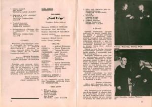 Informacje o sztuce Tadeusza Różewicza pt. Białe małżeństwo, w reżyserii Marcina Jarnuszkiewicza, zamieszczone w kronice Teatru im. J. Kochanowskiego w Opolu, 1980 r.