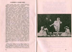 Fragment programu sztuki pt. Białe małżeństwo Tadeusza Różewicza, w reżyserii Kazimierza Brauna, Teatr Współczesny we Wrocławiu, 1975 r.