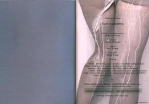 Strona tytułowa programu sztuki pt. Białe małżeństwo, w reżyserii Krystyny Meissner, wydanego z okazji premiery w Teatrze Współczesnym we Wrocławiu, 2010 r.