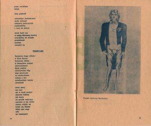 Program wydany z okazji 150 przedstawienia sztuki T. Różewicza pt. Białe małżeństwo, w reżyserii Kazimierza Brauna, Teatr Współczesny we Wrocławiu, 1976 r.