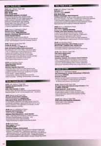 Sztuka T. Różewicza pt. Do piachu, w reżyserii Witolda Mazurkiewicza i Janusza Opryńskiego, wystawiana przez kooperatywę dwóch teatrów: warszawskiego Kompania Teatr i lubelskiego Provisorium, w repertuarze informatora XV Międzynarodowego Festiwalu Teatralnego Bez Granic/XV Mezinárodní Divadelní Festival Bez Hranic, Cieszyn-Český Tĕšín 2004 r.