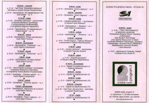 Słuchowisko pt. Grupa Laokoona, w reżyserii Henryka Rozena, w repertuarze Radiowego Festiwalu Twórczości Tadeusza Różewicza na falach Programu II, 1994 r.
