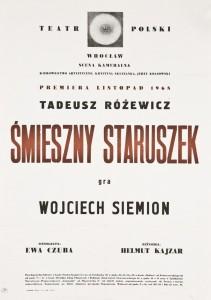 Śmieszny staruszek, Teatr Polski we Wrocławiu, 1968 r.