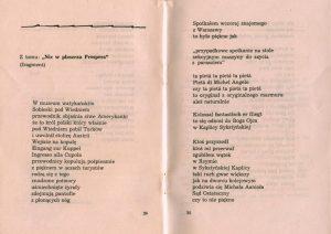 Program sztuki T. Różewicza pt. Grupa Laokoona, w reżyserii Wandy laskowskiej, Państwowy Teatr Dramatyczny we Wrocławiu (Scena Kameralna), oprac. graf.: Wanda Gołkowska, Wrocław 1963 r.