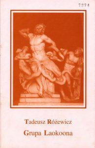 Okładka programu sztuki T. Różewicza pt. Grupa Laokoona, w reżyserii Jana Różewicza, wydanego z okazji premiery w Ośrodku Teatru Otwartego Kalambur, Wrocław 1994 r.